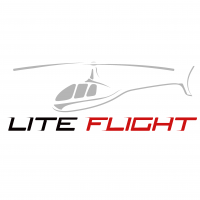 Lite Flight Helicopters logo